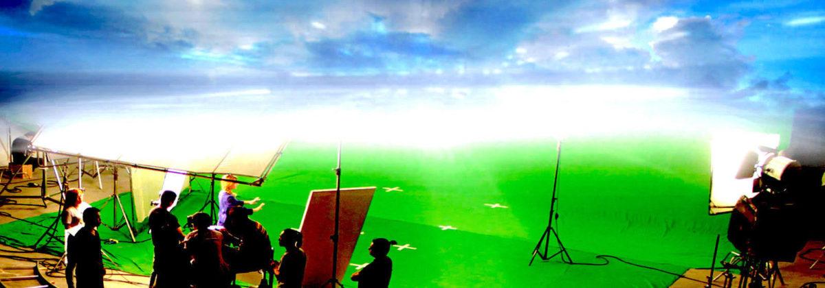 "Actor Driving Through ""Process 0"" (VFX)"